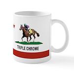 Triple Chrome Mugs