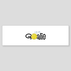 Water Polo Goalie Bumper Sticker