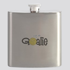 Water Polo Goalie Flask
