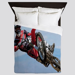 Motocross Stunt Queen Duvet