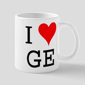 I Love GE Mug