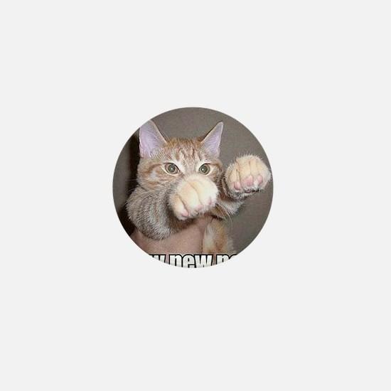 pew pew cat Mini Button