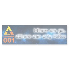 Expedition Bumper Car Sticker
