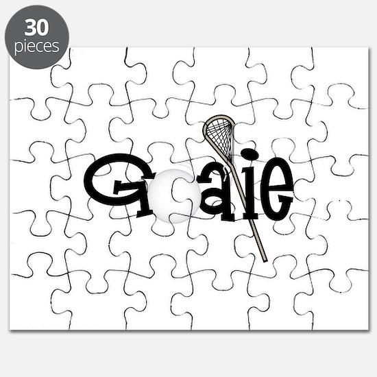 Lacrosse Goalie Puzzle