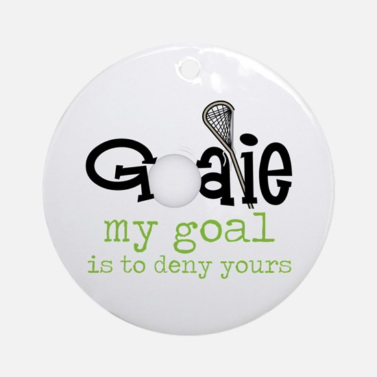 My Goal Ornament (Round)
