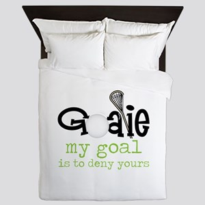 My Goal Queen Duvet
