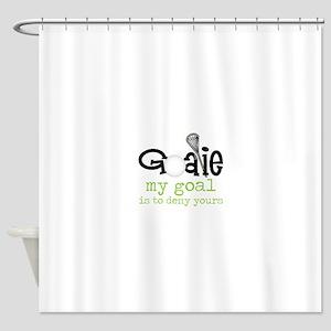 My Goal Shower Curtain