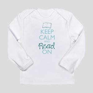 Keep Calm and Read On Long Sleeve T-Shirt