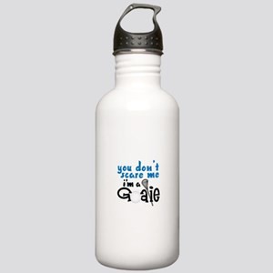 You Dont Scare Me Im A Goalie Water Bottle