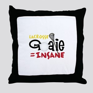 Lacrosse = Insane Throw Pillow