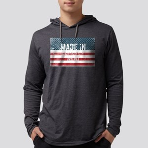 Made in Hartford City, Indiana Long Sleeve T-Shirt
