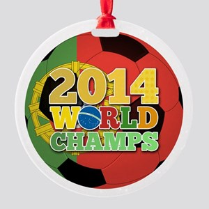 2014 World Champs Ball - Portugal Ornament