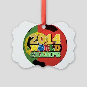 2014 World Champs Ball - Portugal Ornament