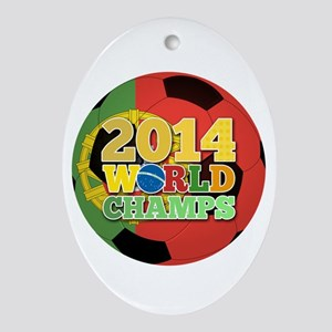 2014 World Champs Ball - Portugal Ornament (Oval)