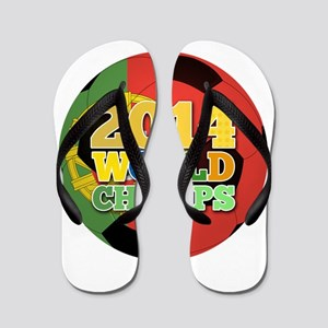 2014 World Champs Ball - Portugal Flip Flops