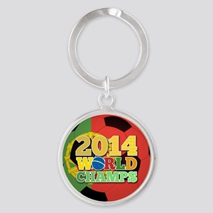 2014 World Champs Ball - Portugal Keychains