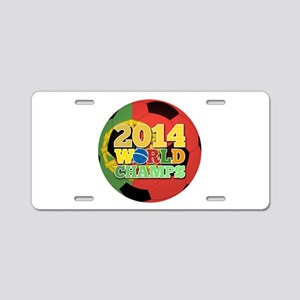 2014 World Champs Ball - Portugal Aluminum License