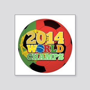 2014 World Champs Ball - Portugal Sticker