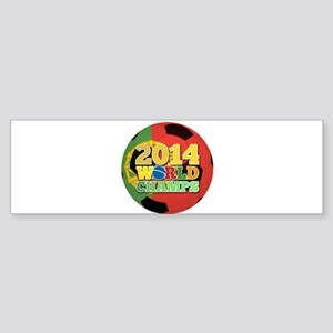 2014 World Champs Ball - Portugal Bumper Sticker