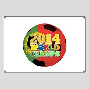 2014 World Champs Ball - Portugal Banner