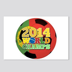 2014 World Champs Ball - Portugal Postcards (Packa