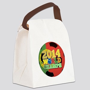 2014 World Champs Ball - Portugal Canvas Lunch Bag