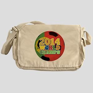 2014 World Champs Ball - Portugal Messenger Bag