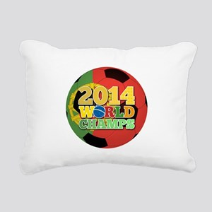 2014 World Champs Ball - Portugal Rectangular Canv