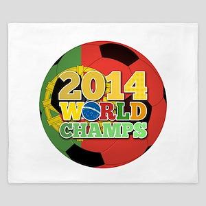 2014 World Champs Ball - Portugal King Duvet