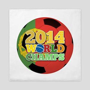 2014 World Champs Ball - Portugal Queen Duvet