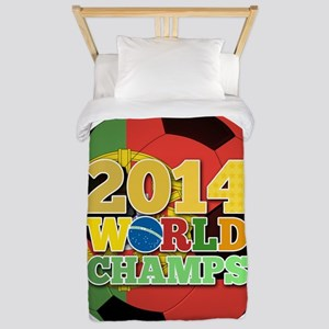 2014 World Champs Ball - Portugal Twin Duvet