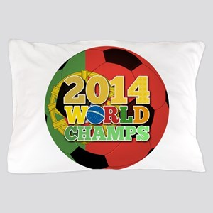 2014 World Champs Ball - Portugal Pillow Case