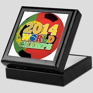 2014 World Champs Ball - Portugal Keepsake Box