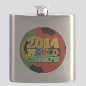 2014 World Champs Ball - Portugal Flask