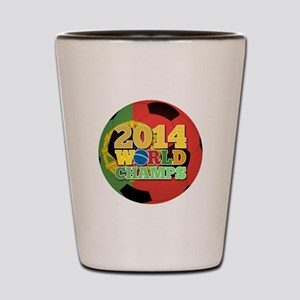 2014 World Champs Ball - Portugal Shot Glass