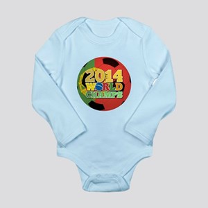 2014 World Champs Ball - Portugal Body Suit
