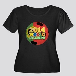 2014 World Champs Ball - Portugal Plus Size T-Shir