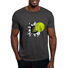 Breakthrough Tennis Ball Dark T-Shirt