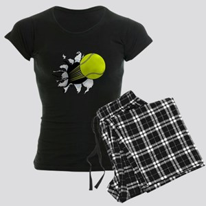 Breakthrough Tennis Ball Women's Dark Pajamas