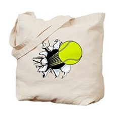 Breakthrough Tennis Ball Tote Bag
