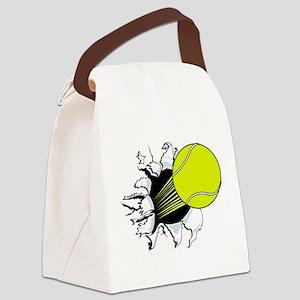 Breakthrough Tennis Ball Canvas Lunch Bag