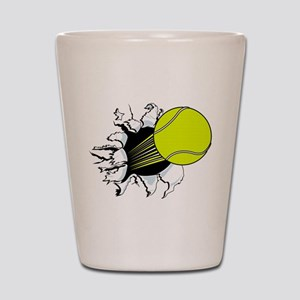 Breakthrough Tennis Ball Shot Glass