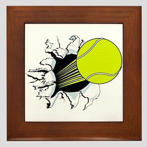 Breakthrough Tennis Ball Framed Tile