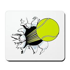 Breakthrough Tennis Ball Mousepad