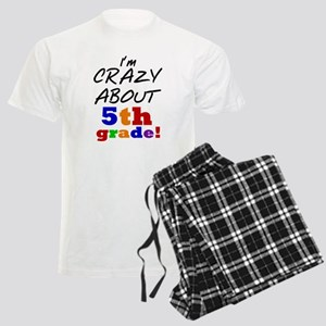 Crazy About 5th Grade Men's Light Pajamas
