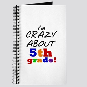 Crazy About 5th Grade Journal