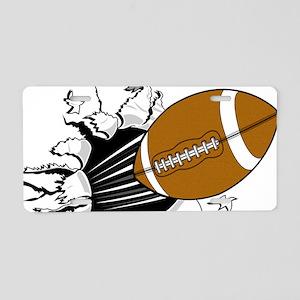 Breakthrough Football Aluminum License Plate