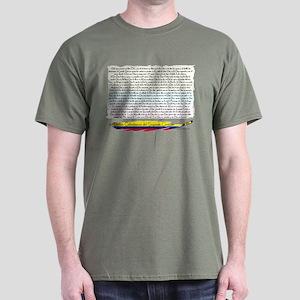 50 dichos sagrado corazon Dark T-Shirt