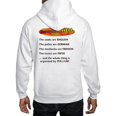 Heavenly / Hellish Europe Hooded Sweatshirt