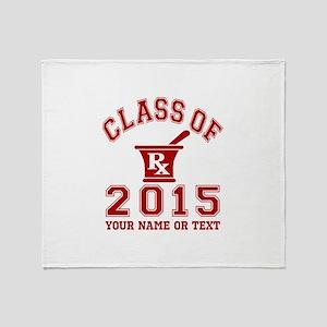 Class Of 2015 Pharmacy Throw Blanket